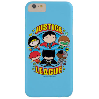 Chibi Justice League Group Barely There iPhone 6 Plus Case