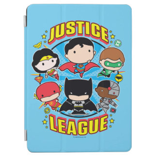 Chibi Justice League Group iPad Air Cover