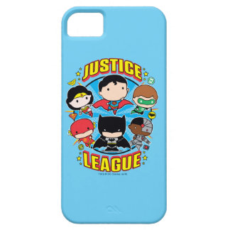 Chibi Justice League Group iPhone 5 Covers