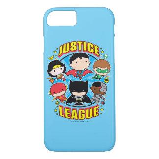 Chibi Justice League Group iPhone 7 Case