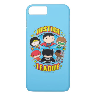 Chibi Justice League Group iPhone 8 Plus/7 Plus Case