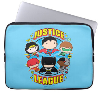 Chibi Justice League Group Laptop Computer Sleeves