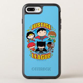 Chibi Justice League Group OtterBox Symmetry iPhone 7 Plus Case