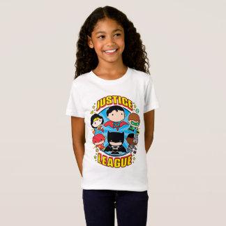 Chibi Justice League Group T-Shirt
