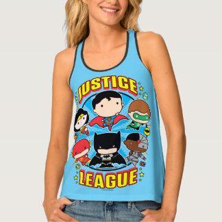 Chibi Justice League Group Tank Top