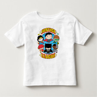 Chibi Justice League Group Toddler T-shirt