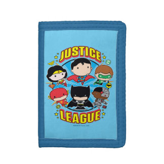 Chibi Justice League Group Trifold Wallet