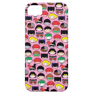 Chibi Justice League Head Pattern iPhone 5 Covers
