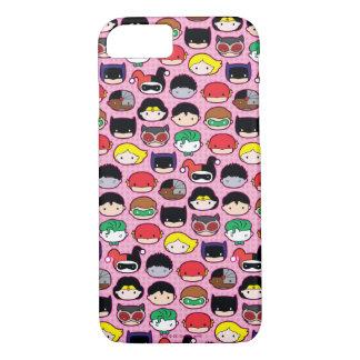 Chibi Justice League Head Pattern iPhone 8/7 Case