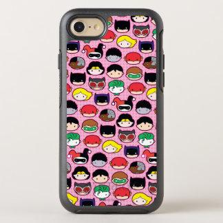 Chibi Justice League Head Pattern OtterBox Symmetry iPhone 7 Case