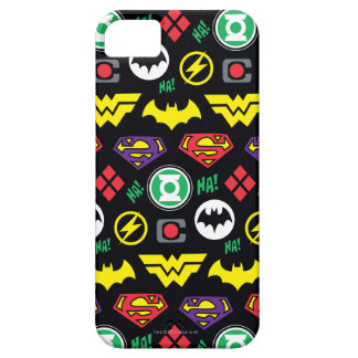 Chibi Justice League Logo Pattern Case For The iPhone 5