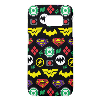 Chibi Justice League Logo Pattern Samsung Galaxy S7 Case