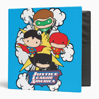 Chibi Justice League of America Explosion Binders