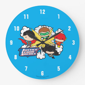 Chibi Justice League of America Explosion Clocks
