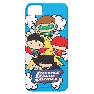 Chibi Justice League of America Explosion iPhone 5 Case