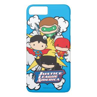 Chibi Justice League of America Explosion iPhone 7 Plus Case