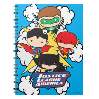 Chibi Justice League of America Explosion Note Books