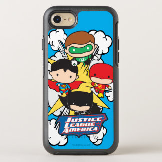Chibi Justice League of America Explosion OtterBox Symmetry iPhone 7 Case