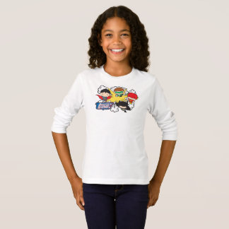 Chibi Justice League of America Explosion T-Shirt