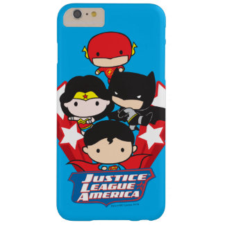 Chibi Justice League of America Stars Barely There iPhone 6 Plus Case