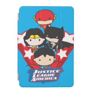 Chibi Justice League of America Stars iPad Mini Cover