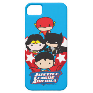 Chibi Justice League of America Stars iPhone 5 Cover