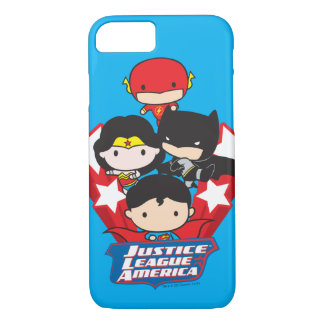 Chibi Justice League of America Stars iPhone 7 Case