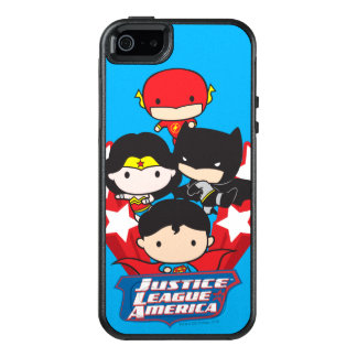 Chibi Justice League of America Stars OtterBox iPhone 5/5s/SE Case