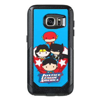 Chibi Justice League of America Stars OtterBox Samsung Galaxy S7 Case
