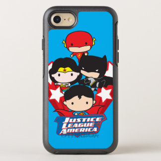 Chibi Justice League of America Stars OtterBox Symmetry iPhone 8/7 Case