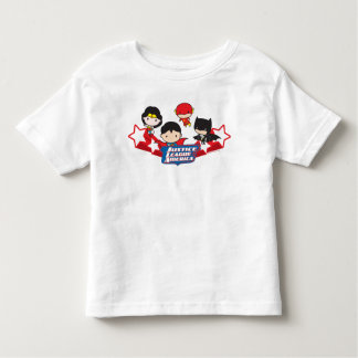 Chibi Justice League of America Stars Toddler T-shirt