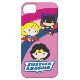 Chibi Justice League Rainbow Case For The iPhone 5