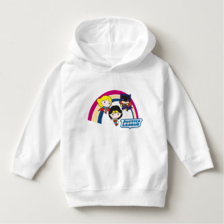 Chibi Justice League Rainbow Hoodie