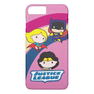 Chibi Justice League Rainbow iPhone 7 Plus Case