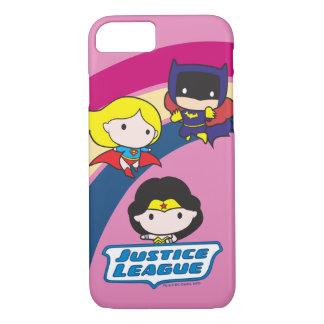 Chibi Justice League Rainbow iPhone 8/7 Case