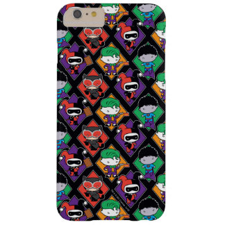 Chibi Justice League Villain Pattern Barely There iPhone 6 Plus Case
