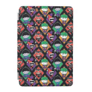 Chibi Justice League Villain Pattern iPad Mini Cover