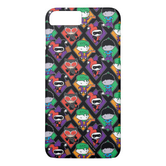 Chibi Justice League Villain Pattern iPhone 7 Plus Case