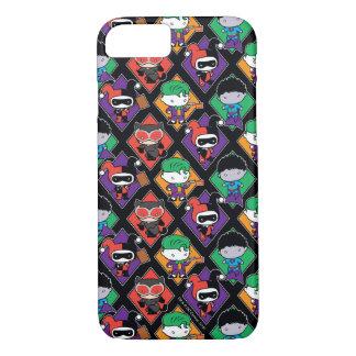 Chibi Justice League Villain Pattern iPhone 8/7 Case