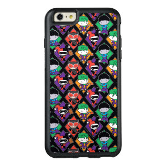 Chibi Justice League Villain Pattern OtterBox iPhone 6/6s Plus Case