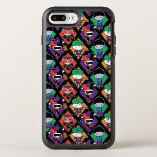 Chibi Justice League Villain Pattern OtterBox Symmetry iPhone 8 Plus/7 Plus Case