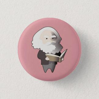 Chibi Karl Marx 1 Inch Round Button
