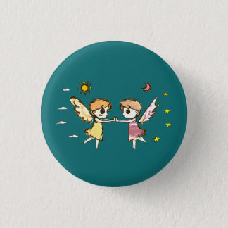 Chibi Keepers 1 Inch Round Button
