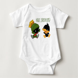 Chibi MARVIN THE MARTIAN™ & DAFFY DUCK™ Baby Bodysuit