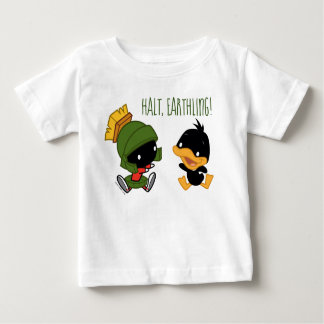 Chibi MARVIN THE MARTIAN™ & DAFFY DUCK™ Baby T-Shirt