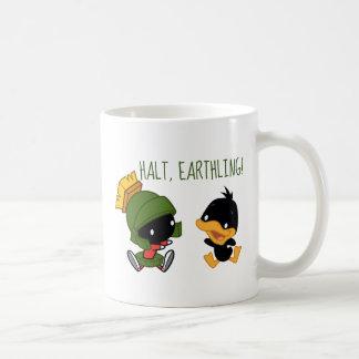 Chibi MARVIN THE MARTIAN™ & DAFFY DUCK™ Coffee Mug