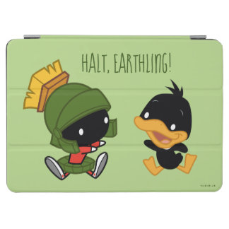Chibi MARVIN THE MARTIAN™ & DAFFY DUCK™ iPad Air Cover