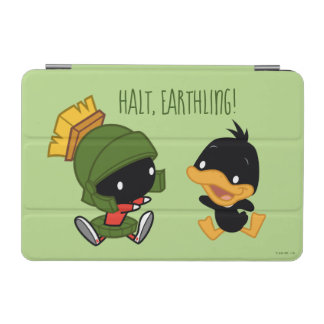 Chibi MARVIN THE MARTIAN™ & DAFFY DUCK™ iPad Mini Cover