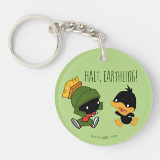 Chibi MARVIN THE MARTIAN™ & DAFFY DUCK™ Keychain