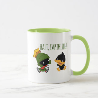 Chibi MARVIN THE MARTIAN™ & DAFFY DUCK™ Mug